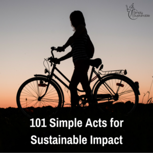 101 Simple Acts for Sustainable Impact